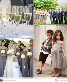 Grey #Chevron #Wedding   … 'Wedding Guide' App ♥ Free for a limited time … https://itunes.apple.com/us/app/the-gold-wedding-planner/id498112599?ls=1=8  ♥ For more magical wedding ideas http://pinterest.com/groomsandbrides/boards/ ♥