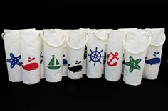 Sunbrella, Marine Canvas, Sailcloth, Fabric and Hardware Gifts For Sailors, Sailing Outfit, Wine Tote, Liquor Bottles, Skull And Crossbones, Red Pattern, Gifts For Coworkers, Starfish, Holiday Parties