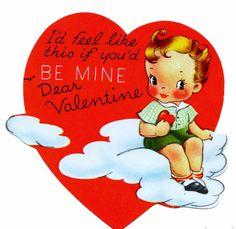 Two Crazy Crafters: Vintage Boy Valentine