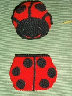 Looking for your next project? You're going to love ladybug hat and diaper cover by designer jennifee10.