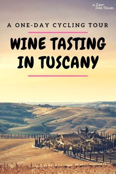 One-day Cycling Wine Tour in Tuscany, Italy #WineTasting #CyclingTrip #CyclingWineTour #WineTastingByBike #BikingTrip #Tuscany #Italy #Travel #GroupTour #OneDayTrip #Florence #FlorenceDayTrip #WineBike #ItalyWine #ItalyWineTasting #BikeTrip #TuscanBikeTrip #TuscanWine #Chianti #ChiantiWine #ChaintiRegion