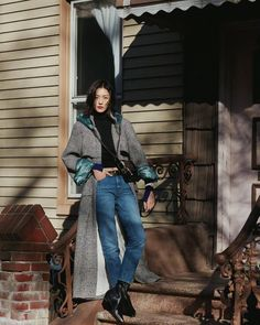 Liu Wen, Star Fashion, Women's Fashion, Supermodels, Cool Girl, Combat Boots, Celebrity Style, Hipster, Normcore