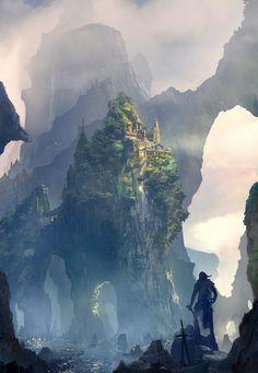 Giant Island by EstevusLuis