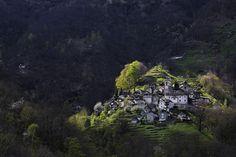 Picture of Corippo village