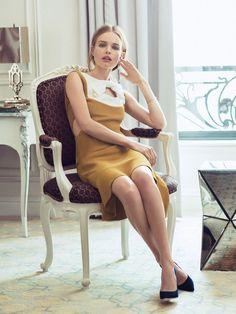 Kate Bosworth by Sebastian Kim for Lucky Magazine November 2013