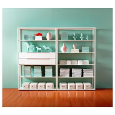 FJÄLKINGE Shelf unit - IKEA the turquoise walls never hurt but I think these are great shelves for my craft room. Nachhaltiges Design, House Design, Interior Design, Ikea Regal, Office Shelf, Ikea Hack, Interior Inspiration, Bookcase, Drawers