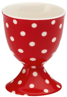 GreenGate egg cups spot red