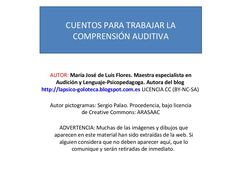 Escucha atentamente by MariaJosé Luis Flores via slideshare