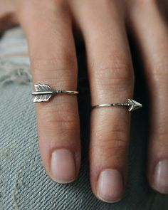 Brazenmade 2 Part Arrow Knuckle Ring