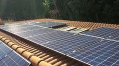 Impianto fotovoltaico ad OSIMO da 6,72 kWp a terra - 24 moduli Q-CELLS in SILICIO POLICRISTALLINO da 250 Wp - UTILIZZO di OTTIMIZZATORI di POTENZA (SOLAREDGE)
