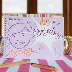 My Day as a Pageboy Keepsake Activity Book #theweddingofmydreams @theweddingomd