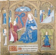 Book of Hours, MS M.1001 fol. 18r - Images from Medieval and Renaissance Manuscripts - The Morgan Library & Museum