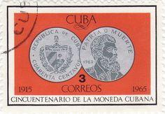 Sello: 40 Centavos (1962) (Cuba) (50th Anniversary of State Mint) Mi:CU 1076,Yt:CU 898