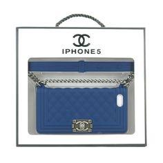 Coque Housse Chanel LE BOY pour iPhone 6S/6S PLUS 4/5en silicone sur jeuxciel.fr 18.90€
