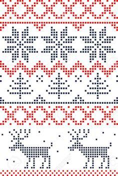 Skandinavischen Nahtlose Muster Lizenzfrei Nutzbare Vektorgrafiken, Clip Arts, Illustrationen. Image 11658997.