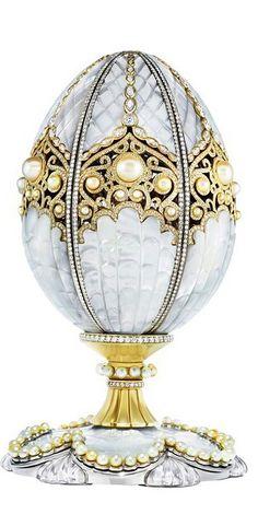 Fabergè ovos decorados , joias muito valiosas.