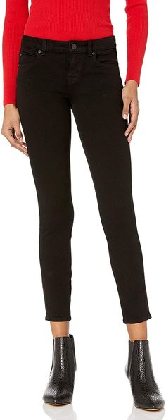 The Drop Women's Standard Jessica Low-Rise Skinny Ankle Jean Night Out Outfit, Home Outfit, Travel Fashion, Skinny Ankle Jeans, Body Size, Girls Night Out, Club Dresses, Daily Wear, Stretch Denim