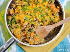 It only takes one skillet and a few ingredients to make this incredibly flavorful and filling Chorizo Sweet Potato Skillet. Step by step photos.