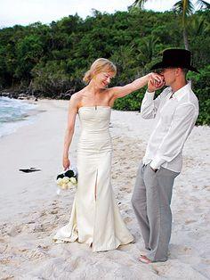 Renée Zellweger and Kenny Chesney 2005 #Wedding
