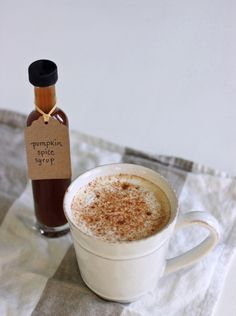 Homemade pumpkin spice latte syrup3