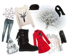 """""""Dream away in christmas."""" by chrisyn ❤ liked on Polyvore"""