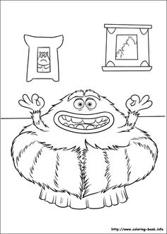 Awesome Monsters Inc Coloring Book 60 Monsters Inc Online coloring