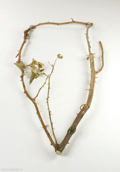 Ricarda TESCH - necklace 2011 rose branches, copper - (DE) - Marzee Galerie
