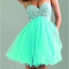Pretty teal dress :)