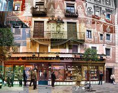 Una foto di decine di foto - Il Post - Barcelona Plaça Santa Maria del Pi