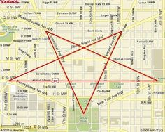 The layout of the streets in Washington, D.C. | 33 Signs The Illuminati Is Real
