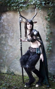 An incredible faun cosplay with hooves and horns - 9 Faun Cosplays