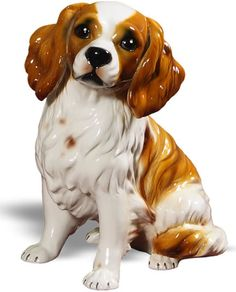King Charles Spaniel Dog Statue Sculpture available at AllSculptures.com