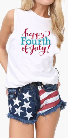 Happy 4th of July // Love the Shorts