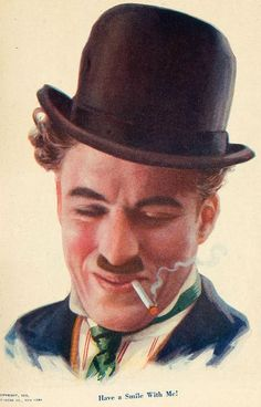 """spicyhorror: """"Charlie Chaplin 1915 """" This image was on the cover of """"Film Fun"""" magazine. Charlie Chaplin, Divas, Chaplin Film, Charles Spencer Chaplin, Cinema, Silent Film, Quote Posters, Filmmaking, The Dreamers"""