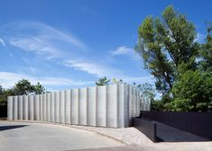 Maggie's Merseyside by Carmody Groarke features a fluted facade
