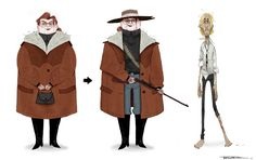 character design for little project.