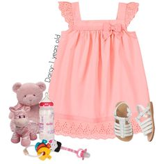 Playing by lovetini6412 on Polyvore featuring polyvore, fashion, style, Gymboree, Gund, PlanToys and clothing
