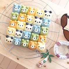 Panda & Bear pull apart bread rolls by umi (@umi0407)