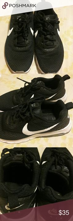Nike shoes Hey there, I'm selling a gently used pair of Nike shoes in great condition size 9 in men. Comment below if you have any questions about this item. Bundles always include discounts. Sorry this is the lowest I'm selling these for. Thanks for stopping by 💖 Nike Shoes Athletic Shoes