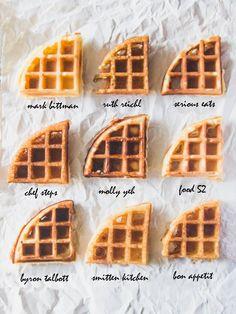Best Yeast Waffle Bake Off - The Pancake Princess Best Belgian Waffle Recipe, Waffle Maker Recipes, Overnight Waffle Recipe, Bake Off Recipes, Recipes With Yeast, Gourmet Recipes, Mark Bittman, Pancake, Sweets