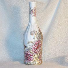 Darčeková fľaša Kvietková