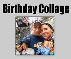 DIY Gift for Boyfriend Birthday - Photo collage