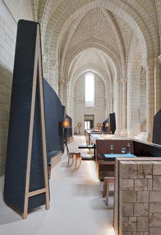 Inside a Design Hotel in a 12th-Century Abbey via @MyDomaine