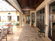 Mediterranean Porch Design Ideas, Pictures, Remodel and Decor