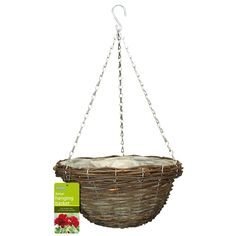 Find Gardman 35cm Rattan Hanging Basket At Bunnings Warehouse Visit Your Local For The