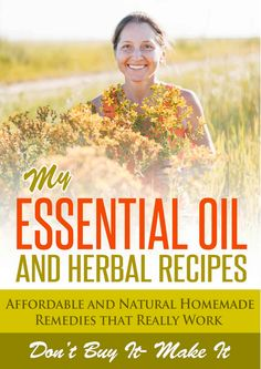 Free ebook today - My Essential Oil and Herbal Recipes: Affordable and Natural Homemade Remedies That Really Work! It contains DIY herbal recipes to help combat stress, wrinkles, oily and dry skin, celluite, bloating and more. There are even DIY spa recipes for relaxing in the bath!