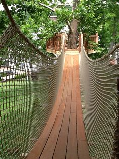 how to make a rope bridge for kids