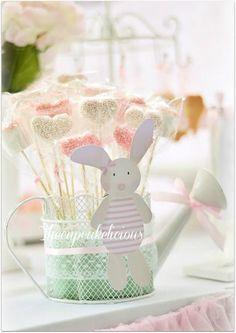 Shabby Chic Bunny Themed 1st Birthday Party with SUCH CUTE IDEAS via Kara's Party Ideas | KarasPartyIdeas.com #BunnyParty #PartyIdeas #Supplies (9)