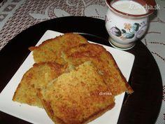 Zemiaková baba  (fotorecept) Slovak Recipes, Russian Recipes, Cornbread, French Toast, Veggies, Cooking Recipes, Sweets, Baking, Breakfast