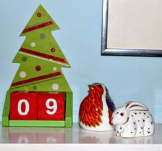 It's day 16! We're into single figures on the Countdown to Christmas. Catch up on the rest of the countdown at Thea's Thinkings